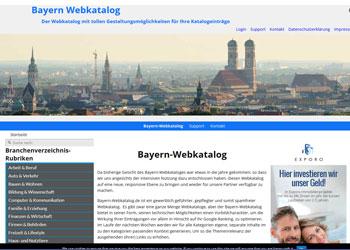 Bayern-Webkatalog: Beste Präsentation für Ihre Google-Optimierung