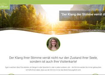 """Birgitta Stadlbauer: """"Der Klang der Stimme verrät den Zustand der Seele"""""""