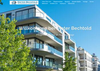 Dieter Bechtold: Pflegeimmobilien als Kapitalanlage