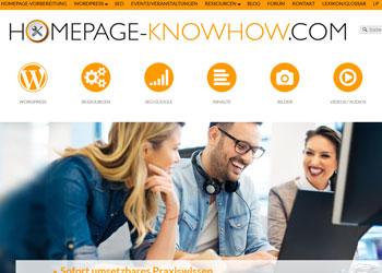 Aktuelles Fachwissen rund um Homepage und Onlinemarketing
