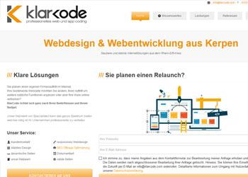 Professionelle Homepageentwicklung mit Joomla und Concrete 5
